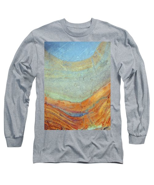 Rock Stain Abstract 7 Long Sleeve T-Shirt