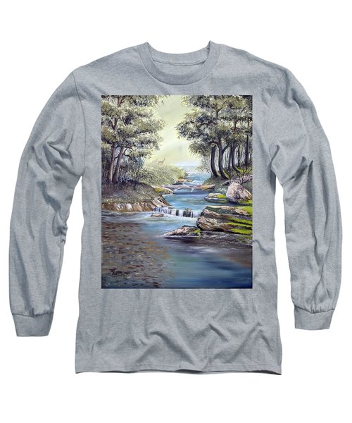 Rocky Stream Long Sleeve T-Shirt