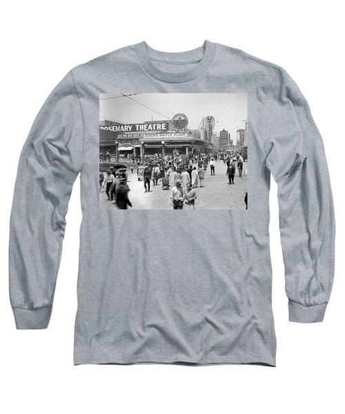 Rosemary Theater Santa Monica Long Sleeve T-Shirt