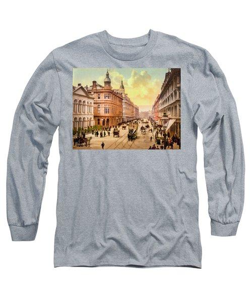 Royal Avenue In Belfast Long Sleeve T-Shirt