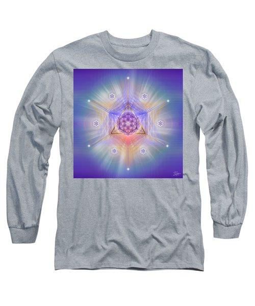 Sacred Geometry 734 Long Sleeve T-Shirt