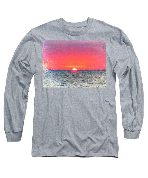 Salty Sunrise Long Sleeve T-Shirt