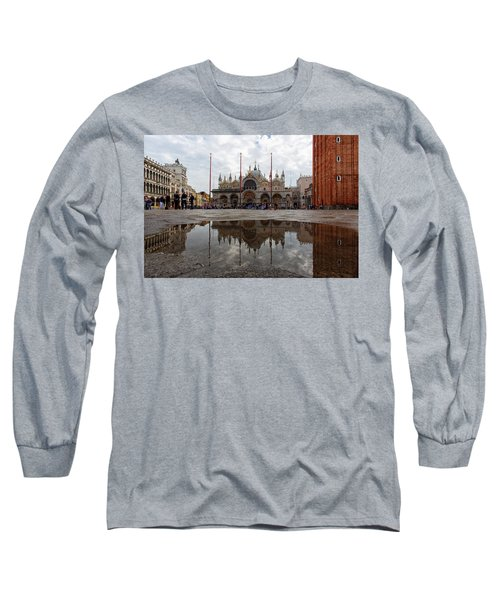 San Marco Cathedral Venice Italy Long Sleeve T-Shirt