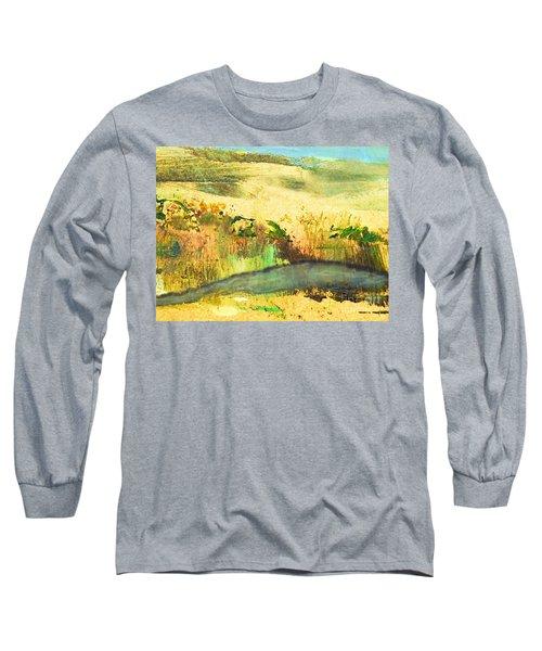 Sandy Landscape Long Sleeve T-Shirt