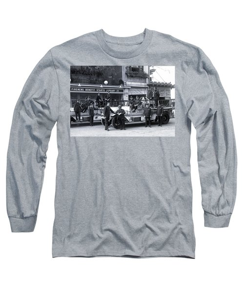 Santa Monica Firemen 1920 Long Sleeve T-Shirt