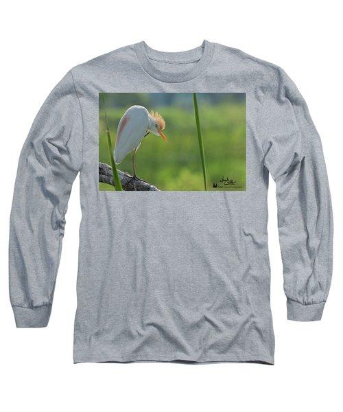 Scratching  Long Sleeve T-Shirt