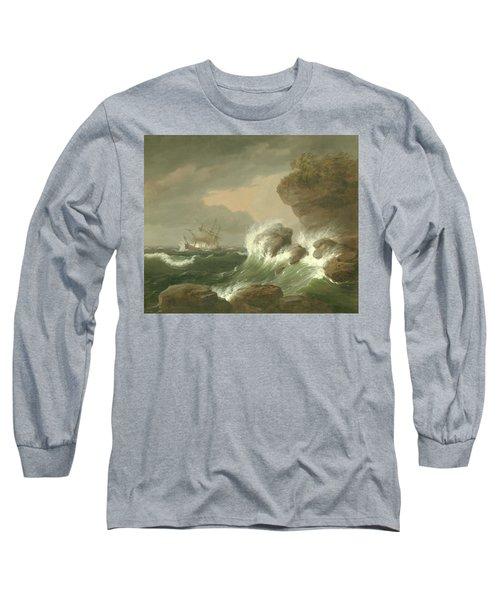 Seascape, 1835 Long Sleeve T-Shirt