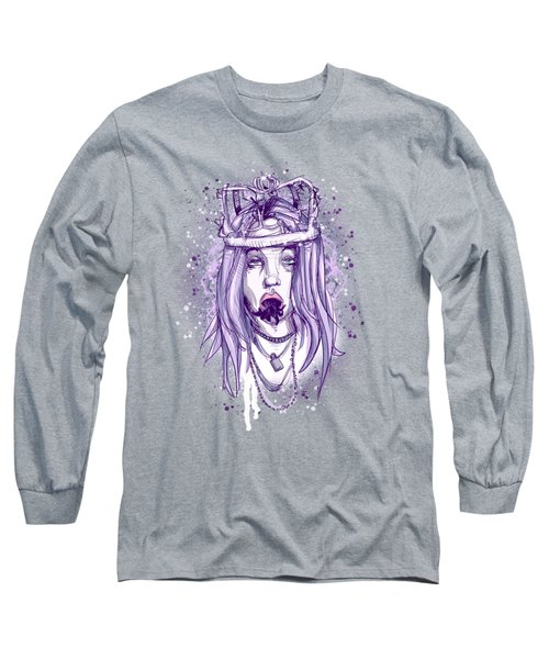 See Me In A Crown Long Sleeve T-Shirt