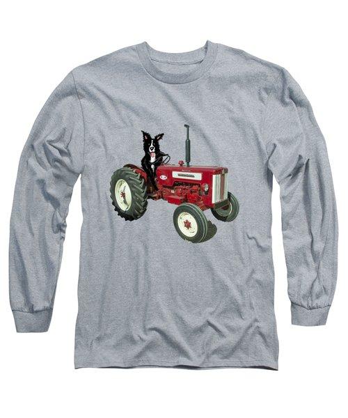 Sheepdog Tractor  Long Sleeve T-Shirt