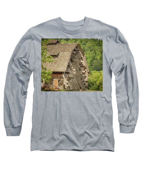 Shingled Barn Long Sleeve T-Shirt