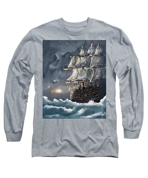 Ship Voyage Long Sleeve T-Shirt