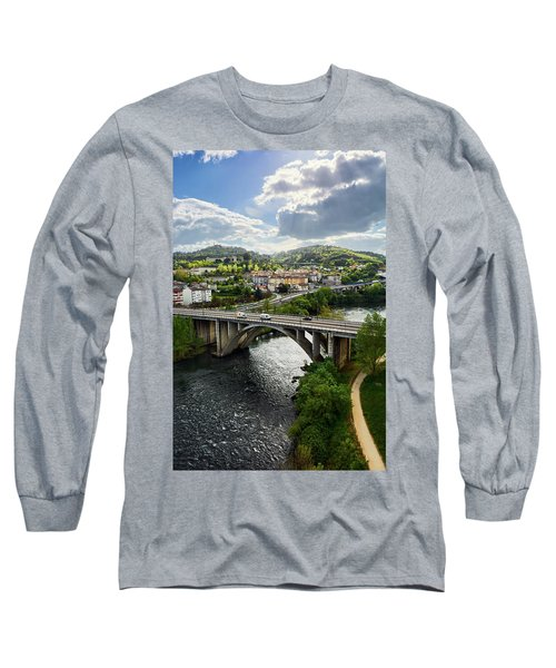 Sights From The Millennium Bridge Long Sleeve T-Shirt