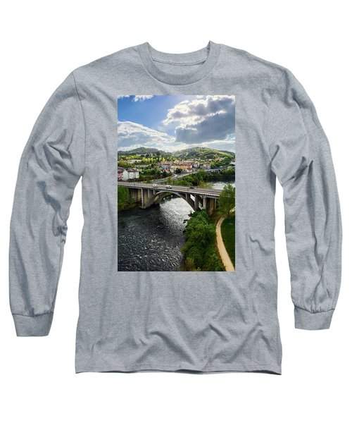 Sights From The Millennium Bridge Long Sleeve T-Shirt