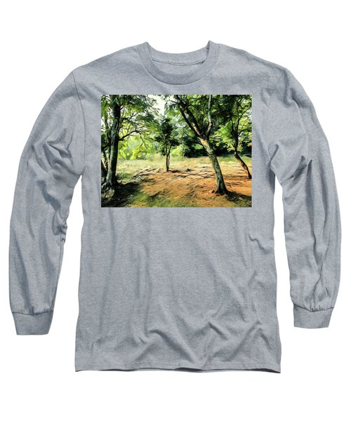 Silence Of Forest Long Sleeve T-Shirt