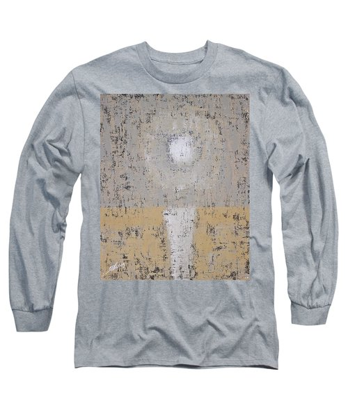 Snow Moon Original Painting Long Sleeve T-Shirt