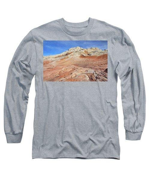 Solid Waves Pano Long Sleeve T-Shirt