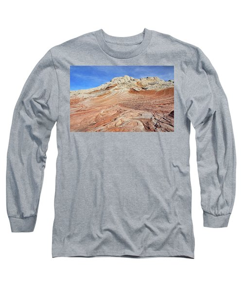 Solid Waves Pano Long Sleeve T-Shirt