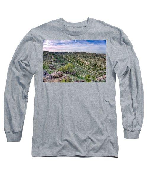 South Mountain Landscape Long Sleeve T-Shirt