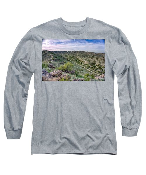South Mountain Landscape Long Sleeve T-Shirt