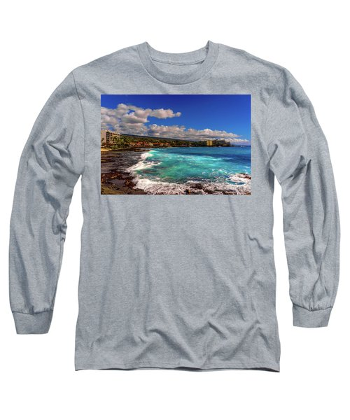 Southern View Of The Shore Long Sleeve T-Shirt