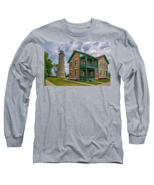 Southport Lighthouse  Long Sleeve T-Shirt