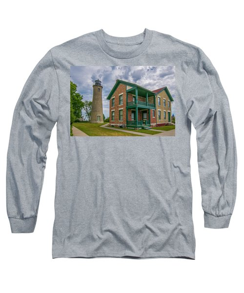 Southport Lighthouse  Long Sleeve T-Shirt