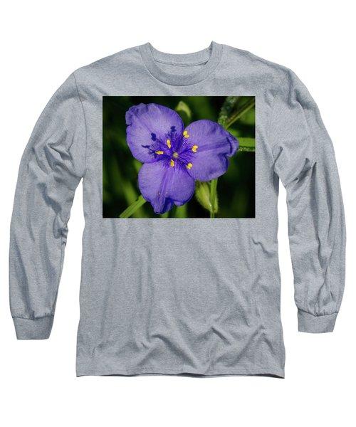 Spiderwort Flower Long Sleeve T-Shirt
