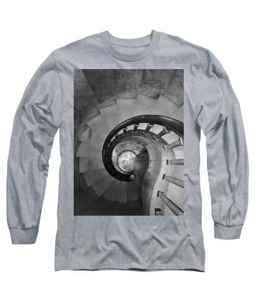 Spiral Staircase, Lakewood  Cemetary Chapel Long Sleeve T-Shirt