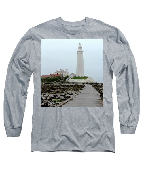 St Mary's Lighthouse Long Sleeve T-Shirt