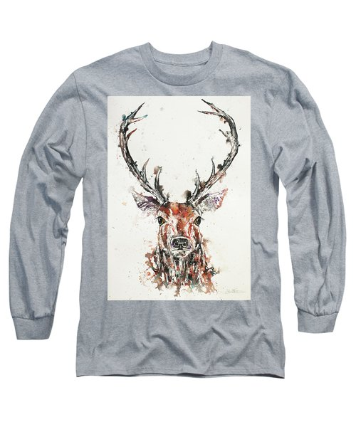 Stag Portrait Long Sleeve T-Shirt