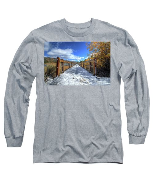 Stanfield Marsh Wildlife And Waterfowl Preserve Bridge Long Sleeve T-Shirt
