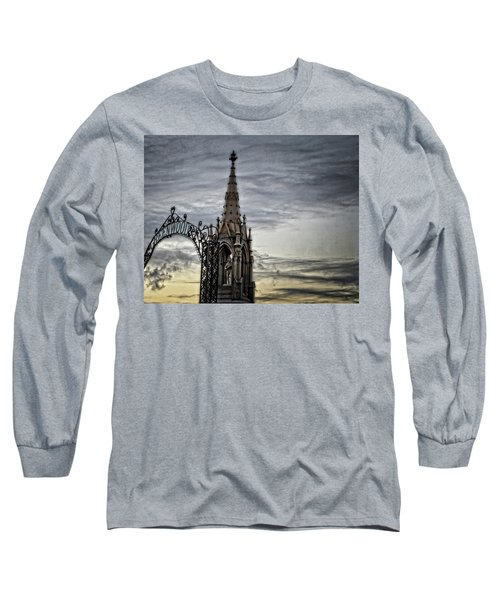 Steeple And Steel Long Sleeve T-Shirt