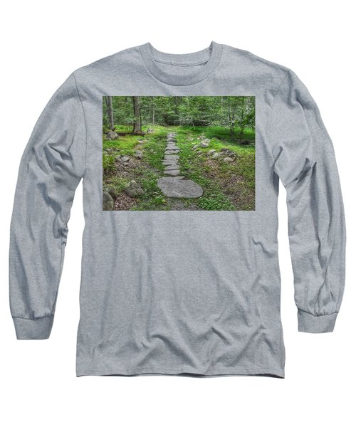 Stepping Stone Path - Kinnelon Long Sleeve T-Shirt
