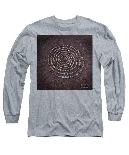 Stone Spriral Long Sleeve T-Shirt