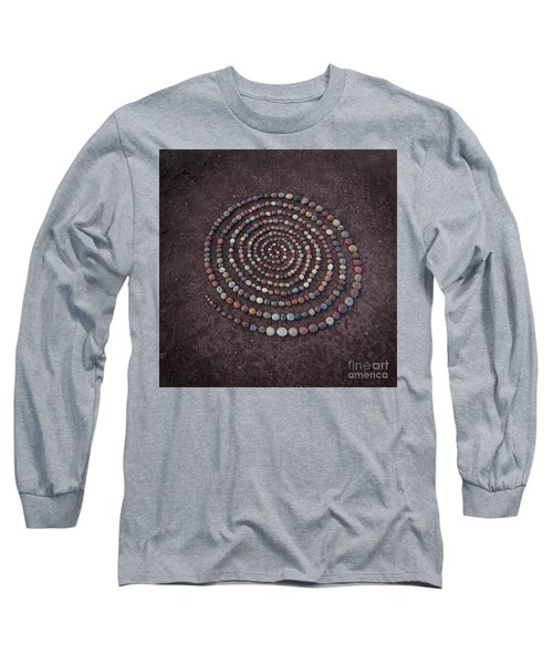 Stone Spriral Long Sleeve T-Shirt