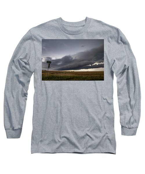 Storm Chasin In Nader Alley 004 Long Sleeve T-Shirt