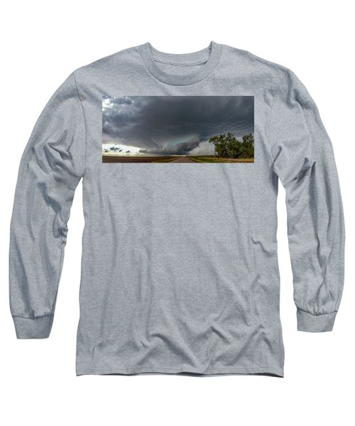 Storm Chasin In Nader Alley 008 Long Sleeve T-Shirt