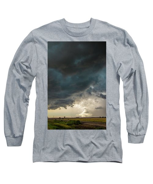 Storm Chasin In Nader Alley 012 Long Sleeve T-Shirt