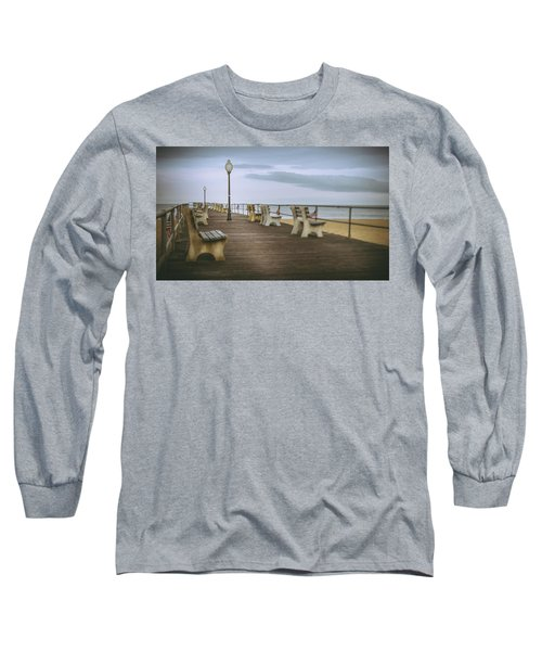 Stormy Boardwalk 2 Long Sleeve T-Shirt