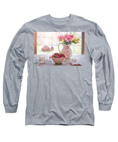 Strawberry Breakfast Long Sleeve T-Shirt