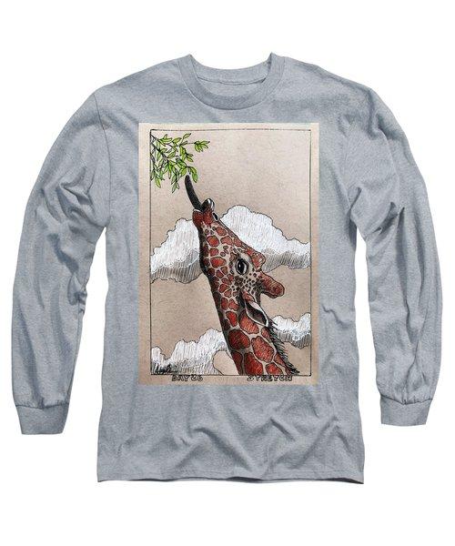 Stretch - Giraffe Long Sleeve T-Shirt