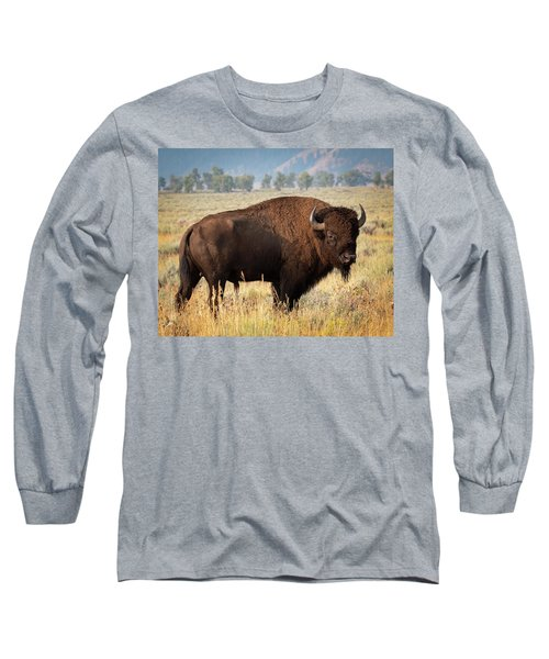 Long Sleeve T-Shirt featuring the photograph Strong And Proud by Mary Hone