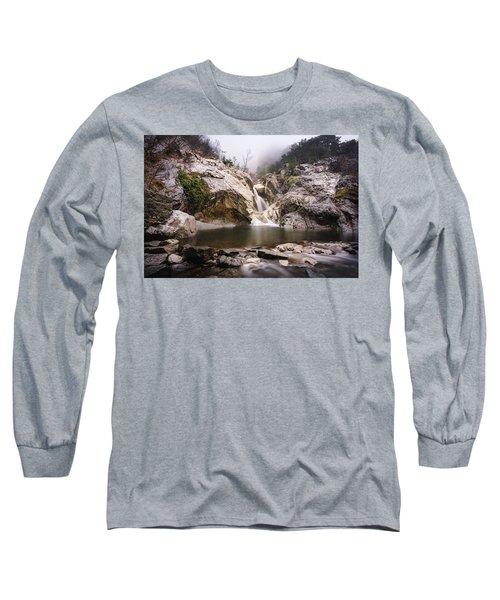 Suchurum Waterfall, Karlovo, Bulgaria Long Sleeve T-Shirt