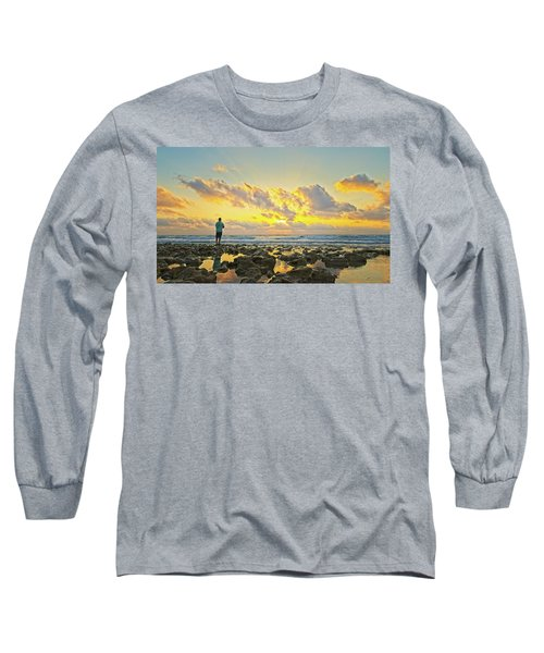 Sunrise Surf Fishing Long Sleeve T-Shirt