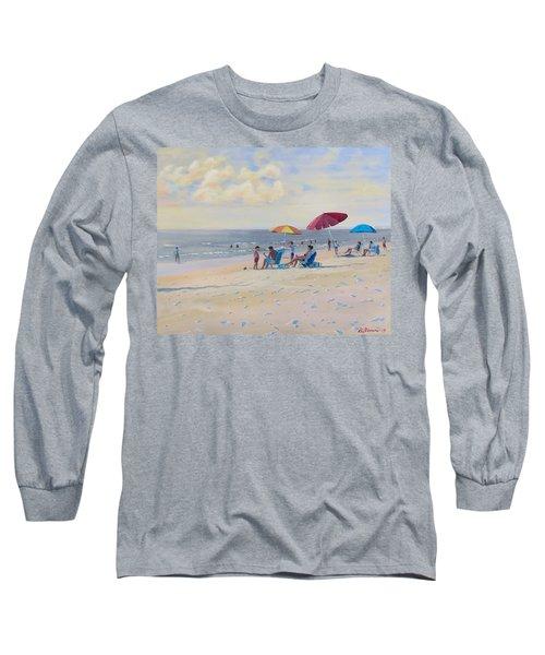 Sunset Beach Observers Long Sleeve T-Shirt