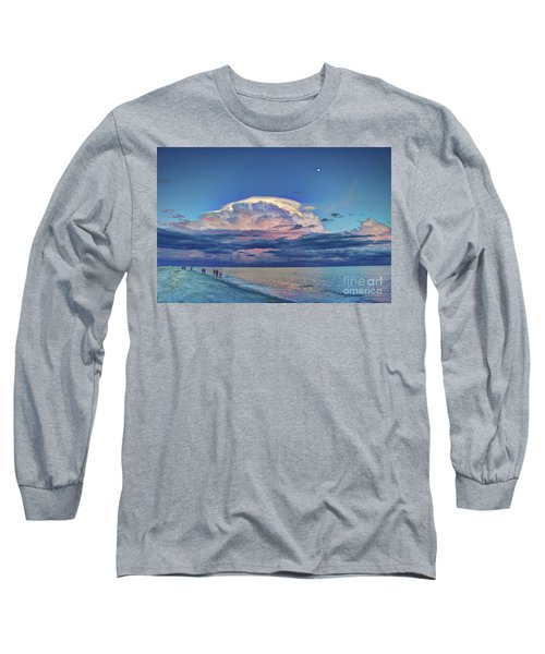 Sunset Over Sanibel Island Long Sleeve T-Shirt