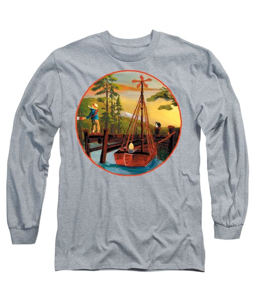 Super Boat Overlay Long Sleeve T-Shirt
