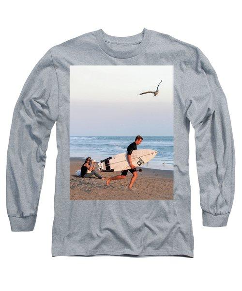 Surf's Up Long Sleeve T-Shirt