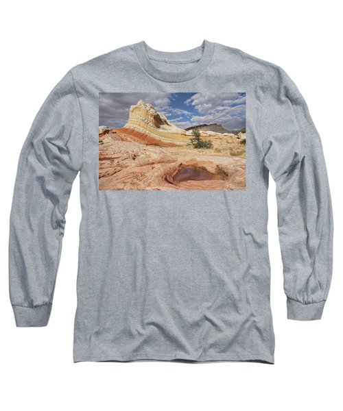 Sweeping Structures In Sandstone Long Sleeve T-Shirt