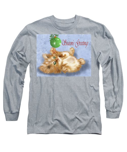 Tabby Greetings Long Sleeve T-Shirt